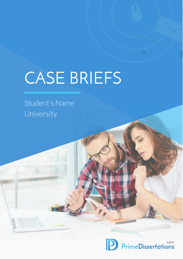 case brief writing services