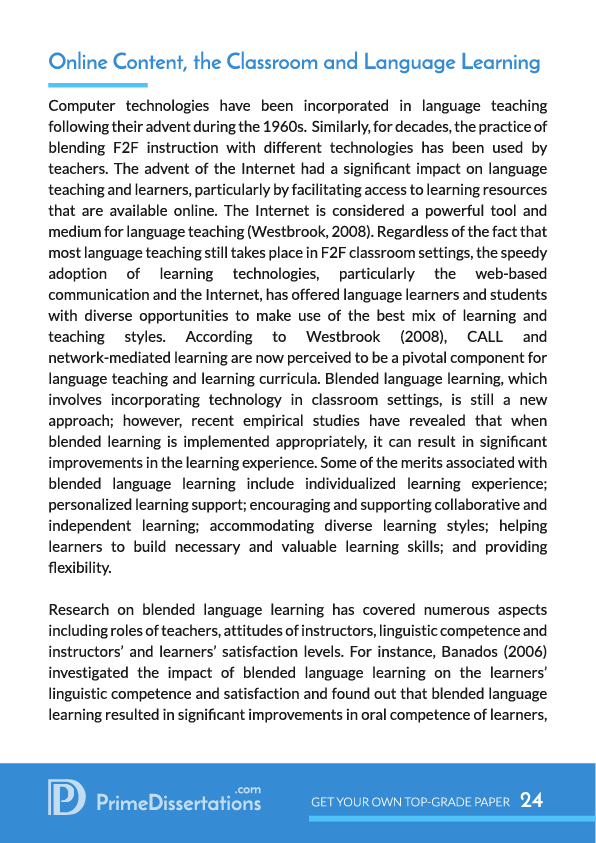 Research work on educational technology